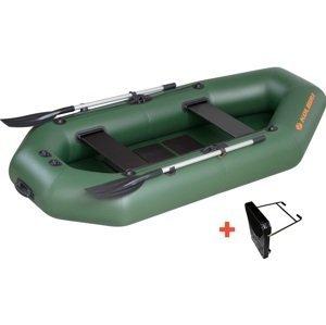 Kolibri člun k-220 t zelený lamelová podlaha + držák