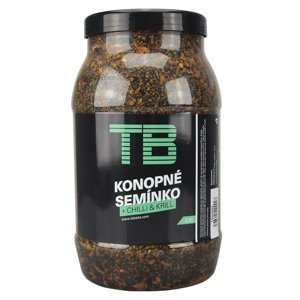 Tb baits partikl konopné semínko + chilli & krill 2,25 l