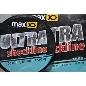 Maxxo šokový vlasec ultra shockline100 m průměr 0,60mm / nosnost 27,80 kg