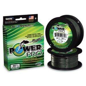 Powerpro splétaná šňůra 275 m mr.green-průměr 0,32mm / nosnost 24kg