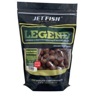Jet fish boilie legend range extra tvrdé 250 g 30 mm-bioenzym fish + a.c. losos