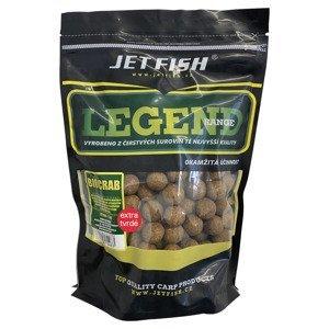 Jet fish boilie legend range extra tvrdé 250 g 24 mm-biocrab