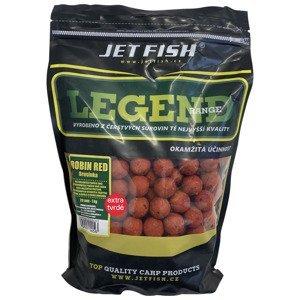 Jet fish boilie legend range extra tvrdé 250 g 24 mm-robin red + a.c. brusinka