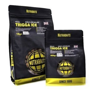 Nutrabaits trvanlivé boilie trigga ice 20 mm-1 kg