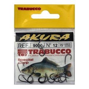 Trabucco háčky akura 9000 15 ks-velikost 2/0