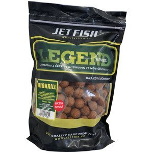 Jet fish extra tvrdé boilie legend range biokrill 30 mm 250 g