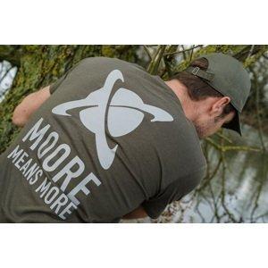 Cc moore tričko khaki new logo-velikost m