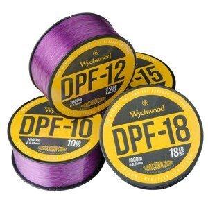 Wychwood vlasec deep purple fluoro coated mono 1000 m-průměr 0,35 mm / nosnost 18 lb