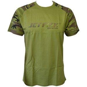 Jet fish tričko víc než nástraha-velikost m
