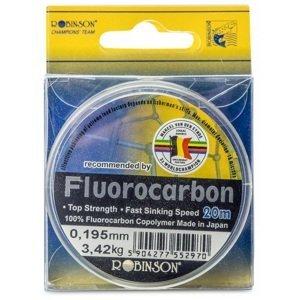 Mvde fluorocarbon robinson čirá 20 m-průměr 0,225 mm / nosnost 4,75 kg