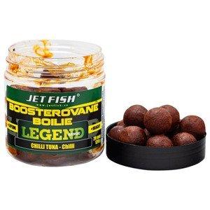 Jet fish boosterované boilie legend range chilli tuna 20 mm 250 ml
