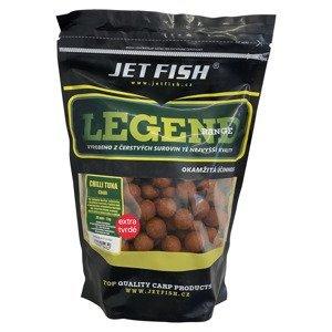 Jet fish boilie legend range extra tvrdé 250 g 24 mm-chilli tuna/chilli