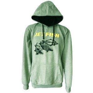 Jet fish mikina žíhaná-velikost xl