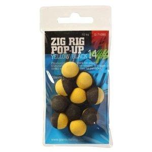 Giants fishing pěnové plovoucí boilie zig rig 10 mm-černo růžová