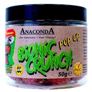 Anaconda pop up boilie bionic crunch 20 mm 50 g-robin red krab s ovocem
