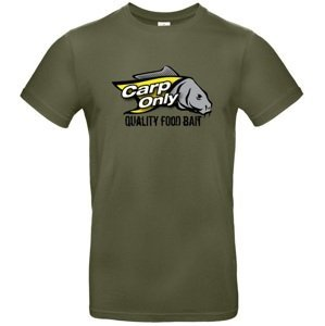 Carp only tričko exact khaki-velikost xl