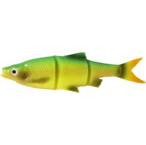 Savage gear gumová nástraha lb roach swim&jerk bulk firetiger-10 cm