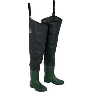 Sert broďáky thigh waders pvc-velikost 44-45
