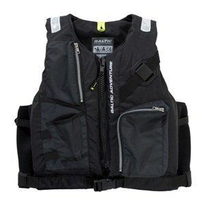 Baltic rybářská vesta adventure 50n černá-velikost s 30-50 kg