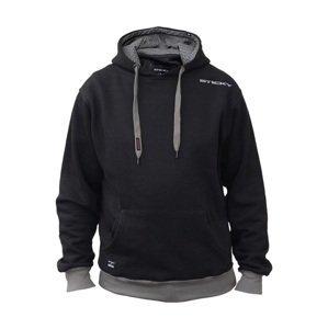 Sticky baits mikina black pullover hood-velikost xxl