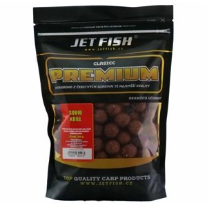 Jet fish boilie premium clasicc 700 g 20 mm-squid krill