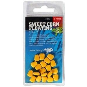 Giants fishing umělá nástraha sweet corn floating yellow 20 ks-velikost s