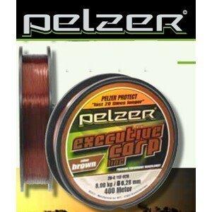 Pelzer vlasec executive carp line brown 1200 m - průměr 0,40 mm / nosnost 15,9 kg