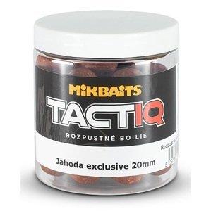 Mikbaits rozpustné boilies tactiq 20 mm 250 ml-jahoda exclusive