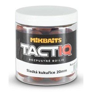 Mikbaits rozpustné boilies tactiq 20 mm 250 ml-sladká kukuřice