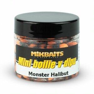 Mikbaits mini boilie v dipu 6-8 mm 50 ml-monster halibut
