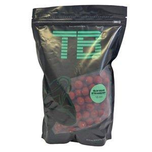 Tb baits boilie glm squid strawberry-250 g 16 mm