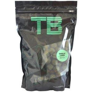 Tb baits boilie garlic liver-250 gr 20 mm