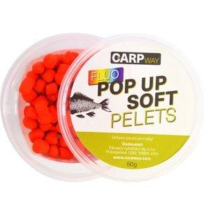 Carpway pelety fluo pop up soft pellets 50 g-mušle