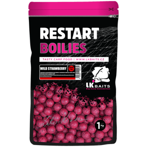 LK Baits ReStart Boilies Wild Strawberry  20 mm, 1kg
