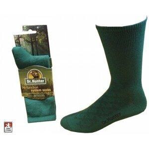 Dr. Hunter ponožky Winter, zimní trek Thermo zelená