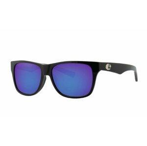 Lenz Polarizační brýle Tay Acetate Sunglasses Black w/Blue Mirror Lens