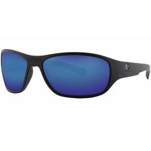 Lenz Polarizační brýle Rogue Discover Sunglasses Black Mat w/Gun Blue Mirror L