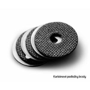 Delphin karbonové podložky 33mm / 3ks