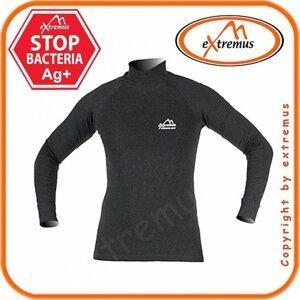 EXTREMUS termoprádlo dlouhý rukáv +límec XL/šedé