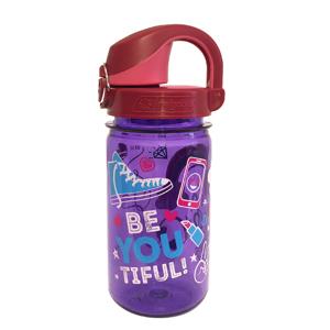 Dětská láhev Nalgene OTF Kids 12oz 350 ml Barva: fialová/červená