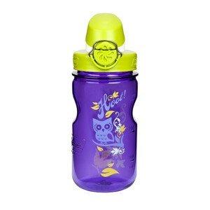 Dětská láhev Nalgene OTF Kids 12oz 350 ml Barva: purple hoot