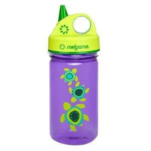 Dětská láhev Nalgene Grip 'n Gulp Barva: fialová/zelená