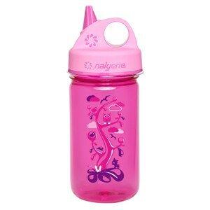 Dětská láhev Nalgene Grip 'n Gulp Barva: tmavě fialová/růžová