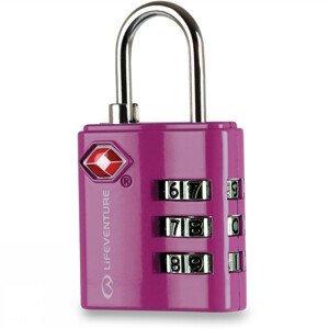 Zámek LifeVenture TSA Combi Lock Barva: pink