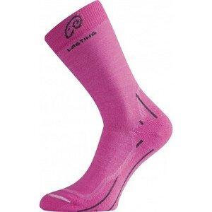 Ponožky Lasting WHI Velikost ponožek: 34-37 / Barva: růžová