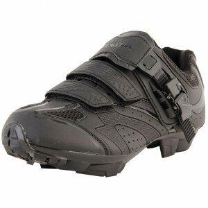 Pánské cyklistické tretry Axon Edge Velikost bot: 43 / Barva: černá