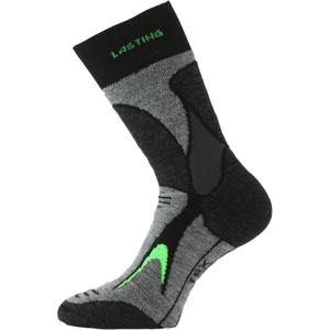 Ponožky Lasting TRX Velikost ponožek: 46-49 / Barva: černá/zelená