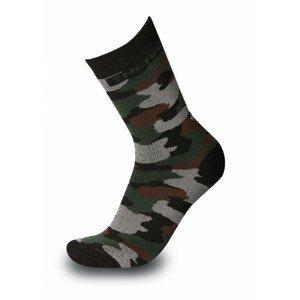 Ponožky Sherpax Bihor Velikost ponožek: 43-47 / Barva: maskáč