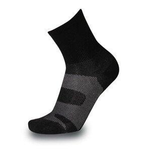 Ponožky Sherpax Api Velikost ponožek: 42-43 / Barva: černá/bílá
