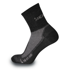 Ponožky Sherpax Solo Velikost ponožek: 39-42 / Barva: šedá